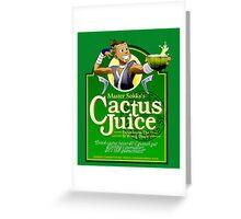 Master Sokka's Cactus Juice Greeting Card