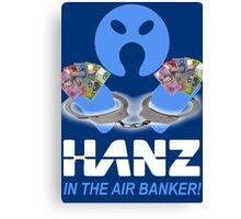 Arrested Banker Canvas Print