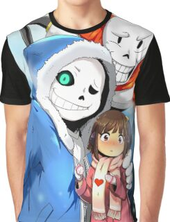 Undertale Selfie Graphic T-Shirt