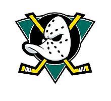 Mighty Ducks Anaheim Photographic Print