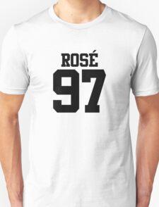 BLACKPINK Rose 97 (Black) Unisex T-Shirt