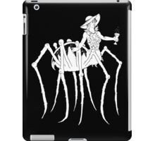 WHT on BLK Collection: Black Widow at a Funeral iPad Case/Skin