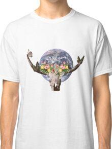 Holy bull skull Classic T-Shirt