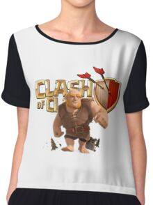 Clash of Clans Giant Chiffon Top