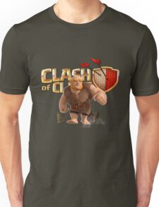 Clash of Clans Giant Unisex T-Shirt