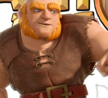Clash of Clans Giant Sticker