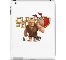Clash of Clans Giant iPad Case/Skin