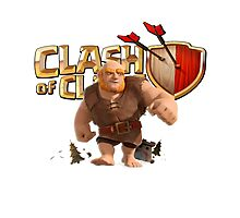 Clash of Clans Giant Photographic Print