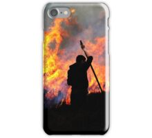 Heather Burning - Yorkshire Dales iPhone Case/Skin