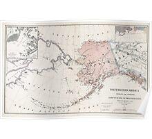 Northwestern America - Alaska - 1867 Poster