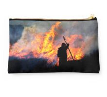 Heather Burning - Yorkshire Dales Studio Pouch