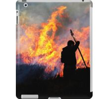 Heather Burning - Yorkshire Dales iPad Case/Skin