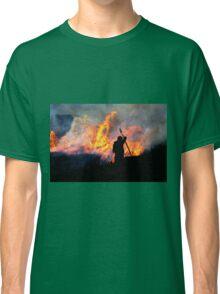 Heather Burning - Yorkshire Dales Classic T-Shirt