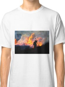 Heather Burning - Yorkshire Dales Classic T-Shirt