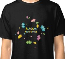 Autism Awareness - Puzzle Pieces Classic T-Shirt