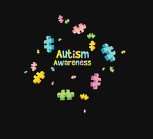 Autism Awareness - Puzzle Pieces Classic T-Shirt
