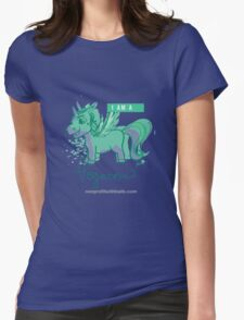 I AM A PEGACORN (square) Womens Fitted T-Shirt