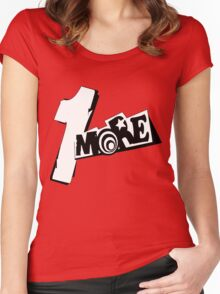 Persona 5 1 More! Women's Fitted Scoop T-Shirt