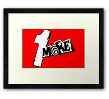 Persona 5 1 More! Framed Print