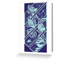 Lylatian Defenders Greeting Card