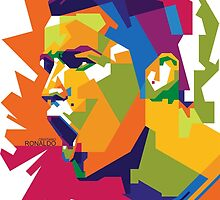 World Cup Edition - Cristiano Ronaldo in WPAP by hwart