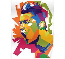 World Cup Edition - Cristiano Ronaldo in WPAP Poster