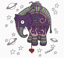Interstellar Elephant Tee Kids Clothes