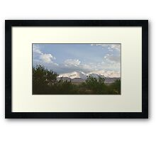 Sundown in Big Bend Framed Print