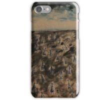Angels on a pilgrimage iPhone Case/Skin