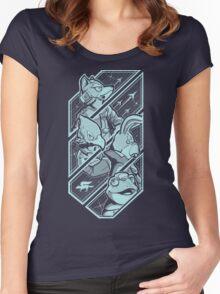 Lylatian Defenders Women's Fitted Scoop T-Shirt