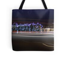 Random Colors In An Abstract Patern Tote Bag