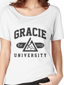 Gracie Jiu-Jitsu University Women's Relaxed Fit T-Shirt