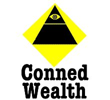 Conned Wealth Photographic Print