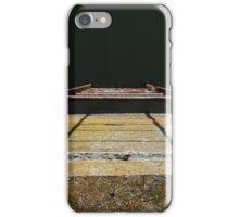 Rustic river exit ladder  iPhone Case/Skin