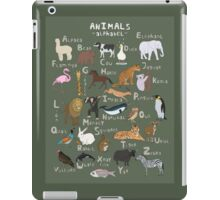 Animals Alphabet iPad Case/Skin