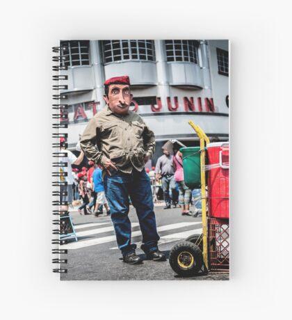 Chávez vive! Spiral Notebook