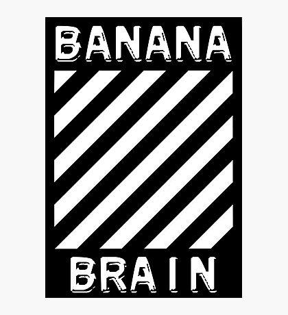 Banana Brain Photographic Print