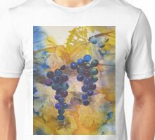 Vineyard Black Grapes Unisex T-Shirt