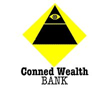 Conned Wealth Bank Photographic Print