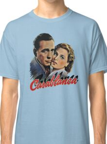 CASABLANCA HUMPHREY BOGARD INGRID BERGMAN retro classic Classic T-Shirt
