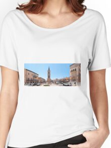 Israel, Jaffa, The Old clock tower in Jaffa, Women's Relaxed Fit T-Shirt