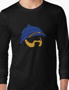 Blue Spelunky Guy Long Sleeve T-Shirt