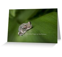 So Many Frogs Greeting Card