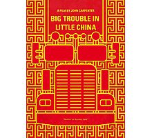 No515 My Big Trouble in Little China minimal movie poster Photographic Print
