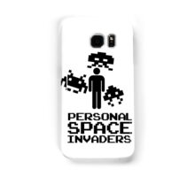 personal space invaders Samsung Galaxy Case/Skin