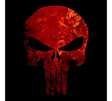 Punisher Flame Photographic Print