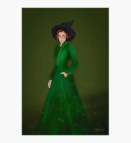 Professor McGonagall Photographic Print