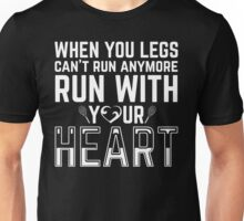 TENNIS-RUN WITH YOUR HEART Unisex T-Shirt