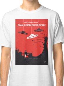 No518 My Plan 9 From Outer Space minimal movie poster Classic T-Shirt