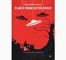 No518 My Plan 9 From Outer Space minimal movie poster Unisex T-Shirt